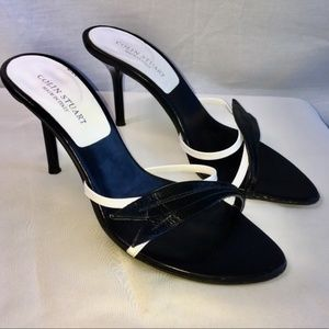 🎄Colin Stuart Heels Slides Sandals 8M